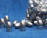 100 lead bullets for 9mm/38 pinfire cartridges