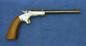 Stevens Diamond N° 43, second issue pistol. Cal 22LR