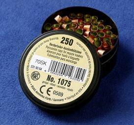 250  Primers for pinfire cartridges