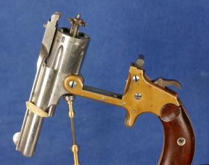 Otis A. Smith Model 1883 Shell Ejector Revolver. VENDU