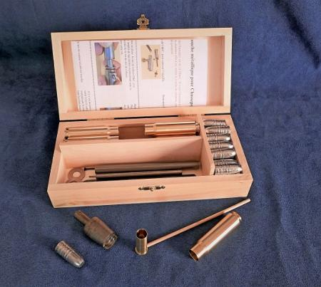 Mettallic cartridge kit for M.1866 Chassepot rifle