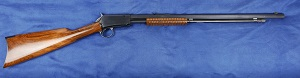 Winchester 1890 slide action rifle. Tthird mod. cal 22 LR .  VENDUE