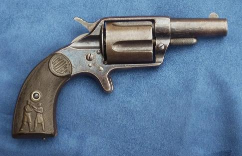 "Colt New Police ""Cop & Thug""  without ejector. 38 LC."