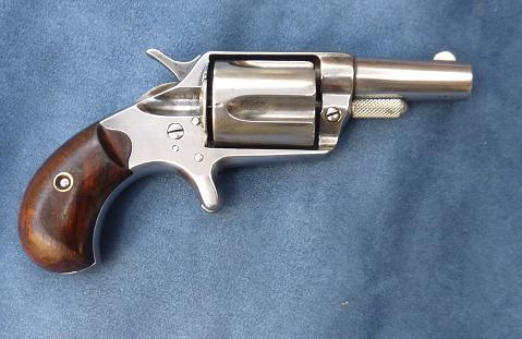 Colt New Line.  Cal 38 long Colt  center fire.