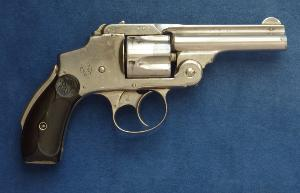 Smith & Wesson Safety Third Model D.A revolver. Cal 38 S & W.