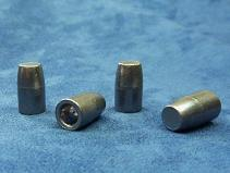 25 balles 41LC à base creuse. Hollow base bullets