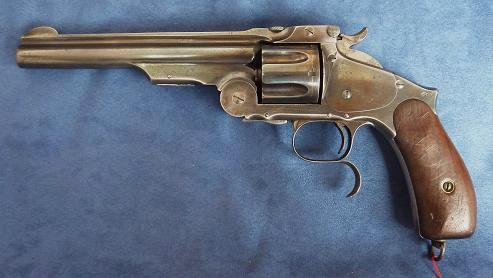 Smith & Wesson n° 3 third model. Arsenal Impérial de Tula ( Toula ) . 44 Russian