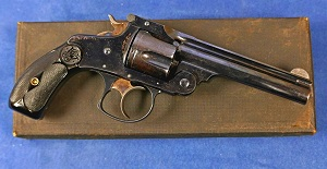 Smith & Wesson  Third Model  D.A 38 cal. VENDU