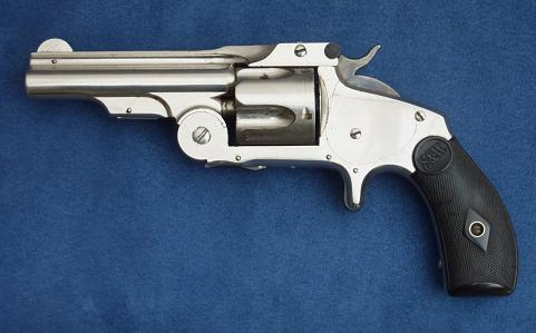 "Smith & Wesson  38 SA First Model ""Baby Russian""."