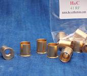 12x 41RF short reloadable brass cases